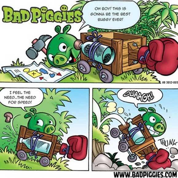 Gioco di societ bad piggies angry birds uscita rovio - Angry birds gioco da tavolo istruzioni ...