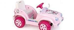 Auto elettrica Cabrio Hello Kitty Biemme