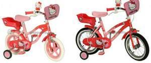 """Biciclette Hello Kitty 12″ 14"""" e 16″ YAKARI"""