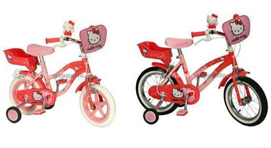 Biciclette Hello Kitty 12 14 16 Yakari Prezzi Online E Dove Comprare