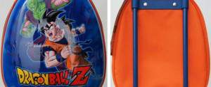 Zaino Mini Trolley Dragon Ball Z con ruote