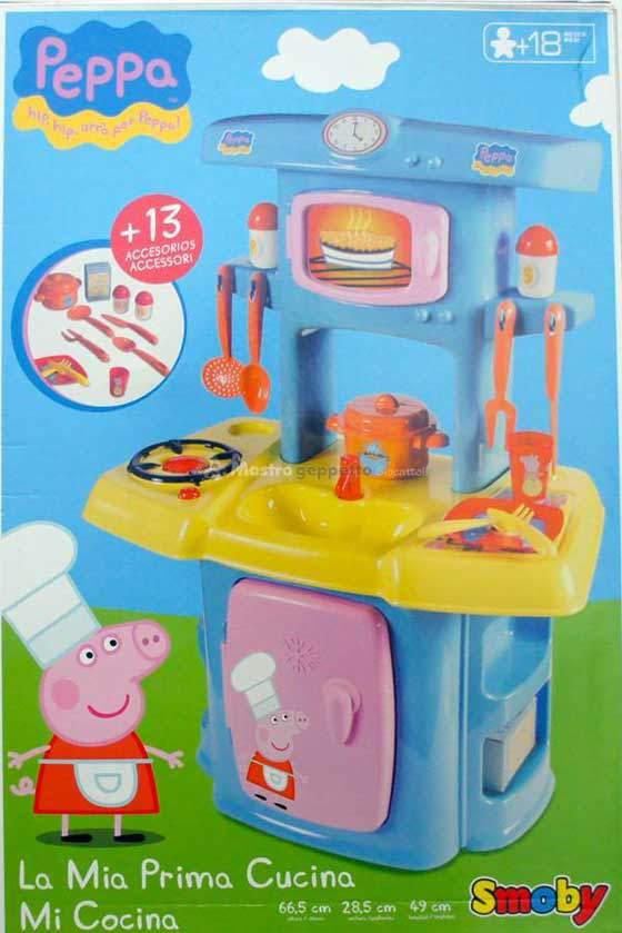 Peppa pig la cucina smoby prezzo costo e dove comprare online - Dove comprare cucina ...