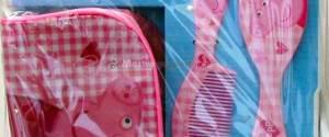 Peppa Pig Set di Bellezza: borsetta, pettine, spille e collana