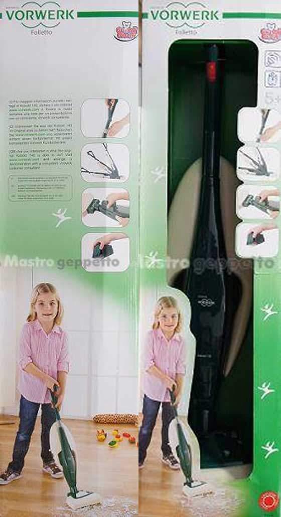 Vorwerk folletto aspirapolvere giocattolo per bambini - Robot aspirapolvere folletto prezzo ...