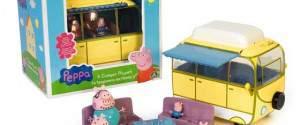Il Campeggio e il camper di Peppa Pig, tutta la famiglia in vacanza