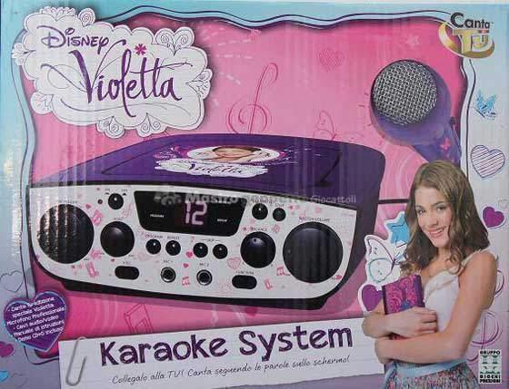 Violetta canta tu karaoke system prezzo costo e dove for Canta tu prezzo toys