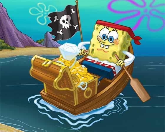 Spongebob giocattoli krusty krab galeone pirate e casa