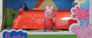 Peppa Pig, l'orologio al quarzo, la lanterna Zeon e la macchina