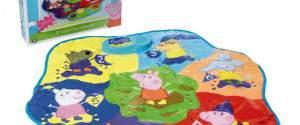Peppa Pig: il Tappetino Attività con la sigla della serie TV