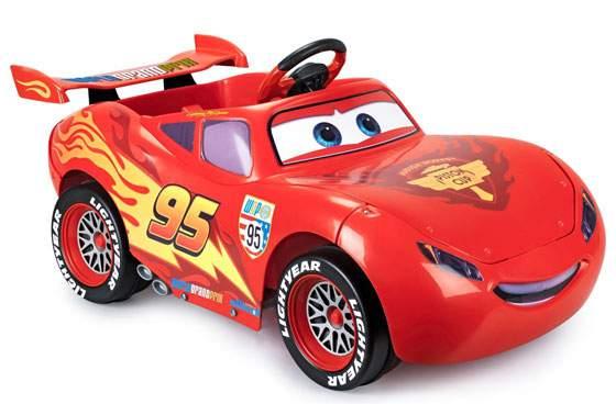 Saetta mcqueen disney cars 2 auto elettrica rossa prezzo - Image voiture cars ...