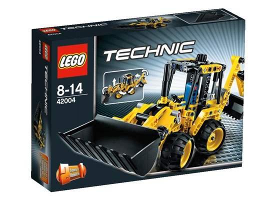 LEGO-Technic-42004---Mini-Scavatrice