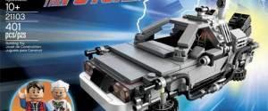 Macchina del tempo DeLorean Ritorno al Futuro – Lego Cuusoo (21103)