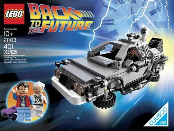 Macchina Del Tempo Delorean Ritorno Al Futuro Lego Cuusoo