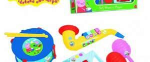Peppa Pig set strumenti musicali: prezzo e dove comprare online