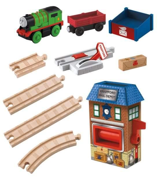 La Stazione Postale - Wooden Railway Fisher Price