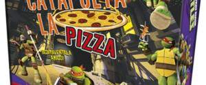 Ninja Turtles Catapulta La Pizza Lisciani
