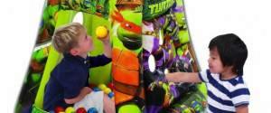 Turtles Heroes Play Tower con 20 palline colorate Giochi Preziosi