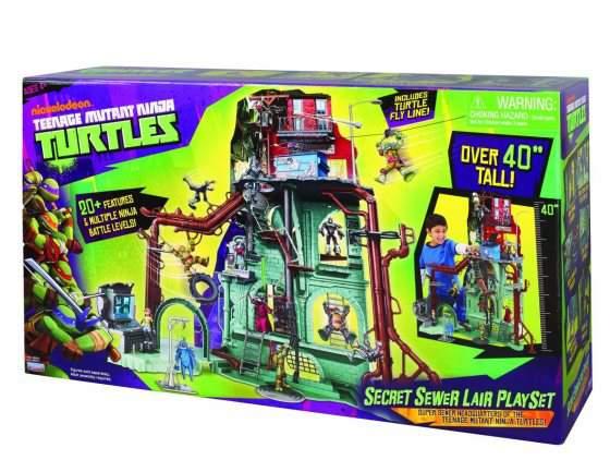 Ninja Turtles prezzo Playset Quartier Generale Lair