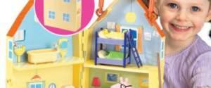 Peppa Pig La Grande Casa Deluxe di Giochi Preziosi