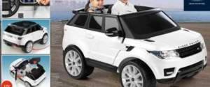 Range Rover Evoque Sport 12V auto elettrica (800008660)
