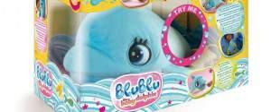 Baby Delfino Blu Blu: il nuovo peluche giocattolo da coccolare