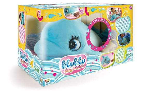 Delfino blu blu giocattolo