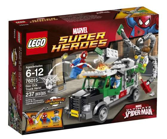 LEGO Super Eroi spider man vs octopus