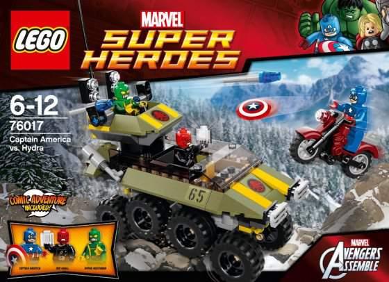 lego heroes capitan america