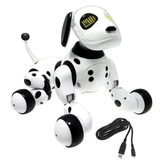 spin master robot dog instructions