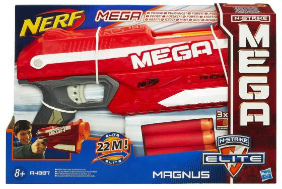 mega magnum pistola nerf