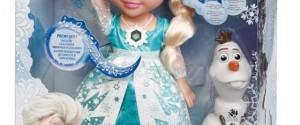 Frozen Principessa Elsa con Luci e Suoni