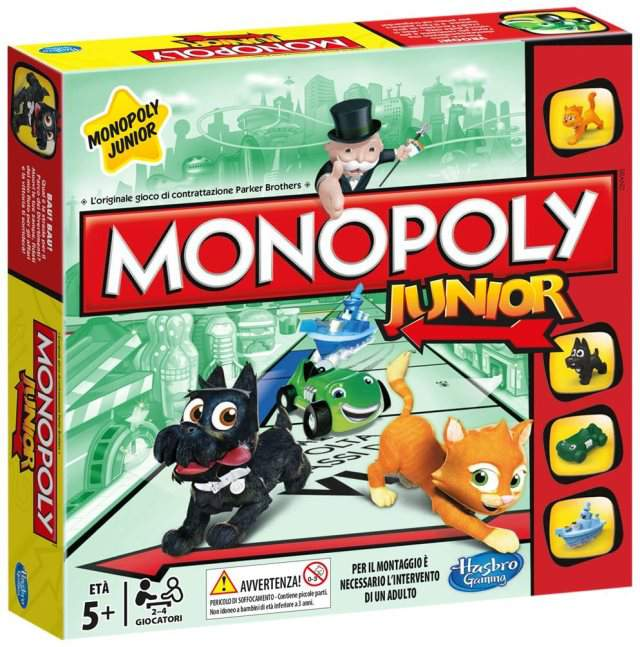 Monopoly Junior di Hasbro