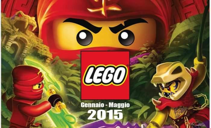 Nuovo catalogo delle collezioni LEGO 2015: tutti i prodotti di Gennaio – Maggio