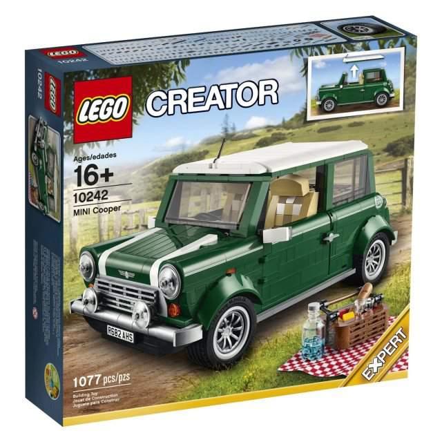 Mini Cooper Lego Creator in miniatura
