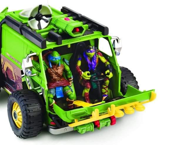 Tartarughe ninja movie van furgone telecomandato prezzo for Prezzo tartarughe