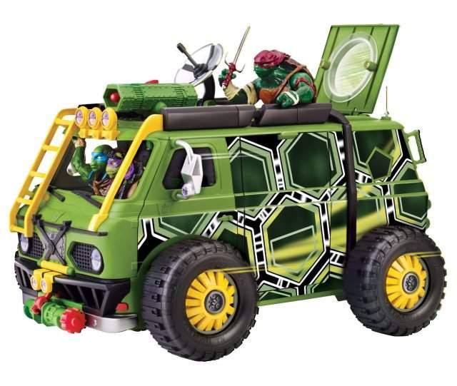 mini van furgone tartarughe