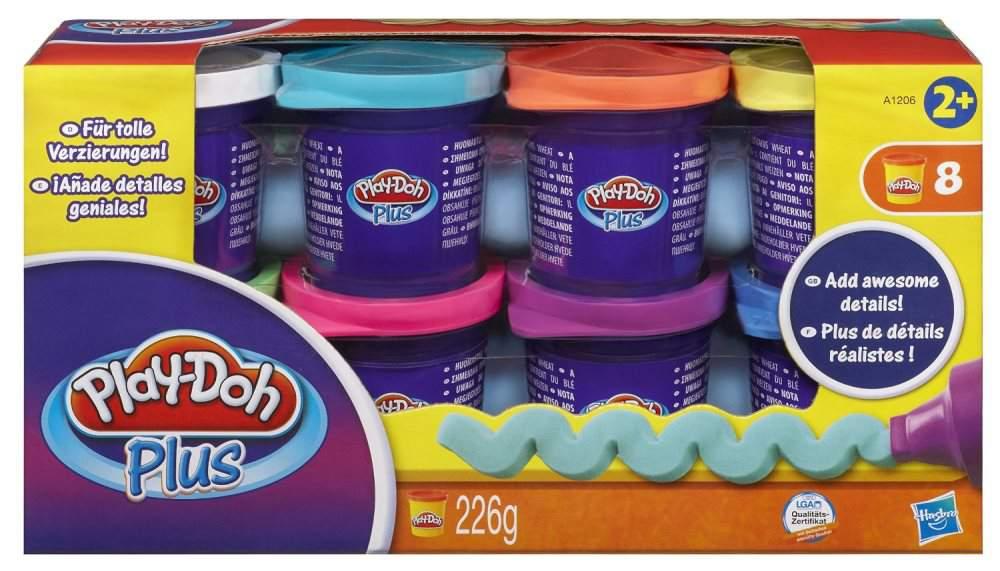 Playdoh Plus 8 Vasetti di Hasbro