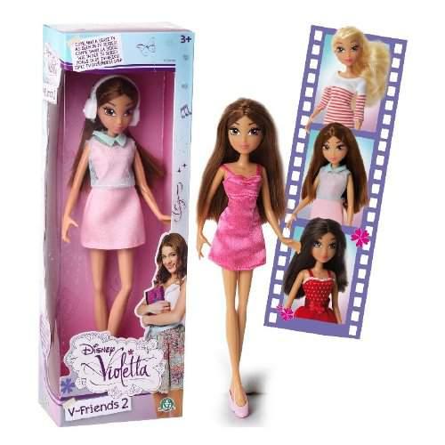 Bambola Violetta V Friends 2 Disney Giochi Preziosi
