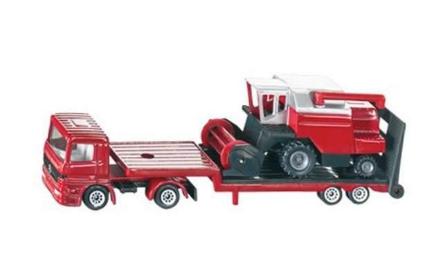 Siku 1620 – Camion con trebbia mietitore Scala 1:87 – 1:120