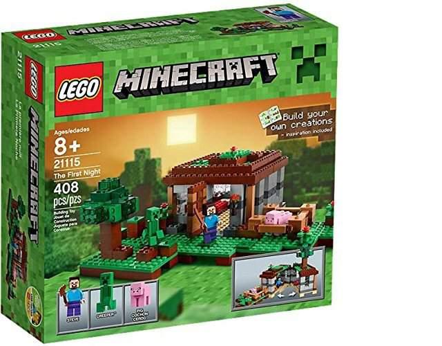 La prima notte – Lego Minecraft