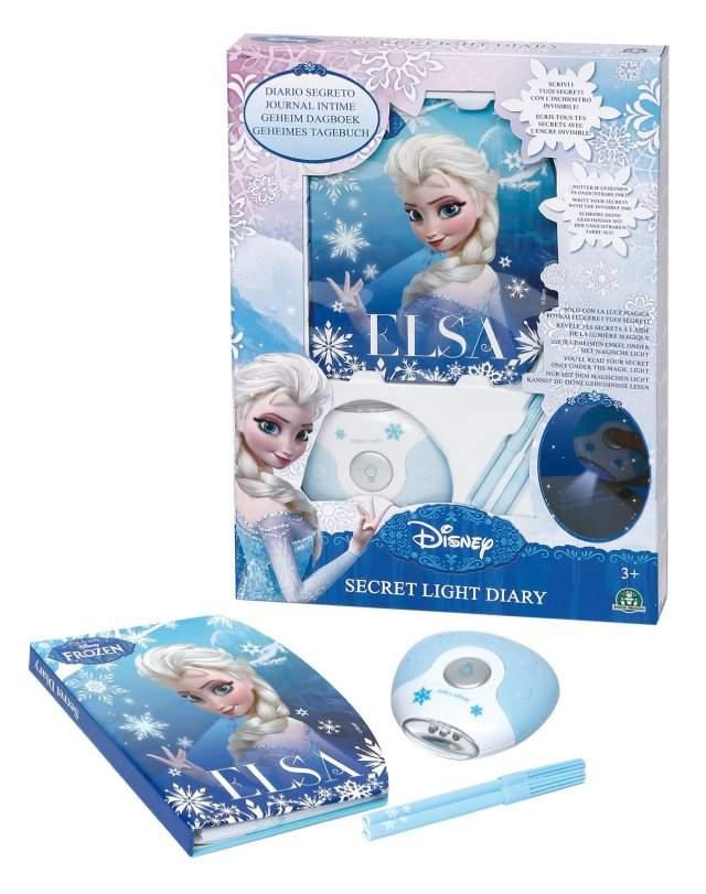 Diario Segreto Frozen Giochi Preziosi: penne con inchiostro invisibile e luce UV