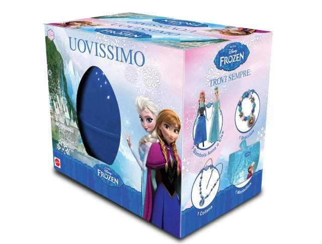 Uovissimo Frozen 2015, trova le principesse Anna ed Elsa