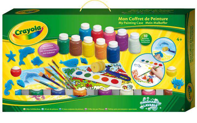 Crayola 93099 - Kit di attività creative valigetta del pittore