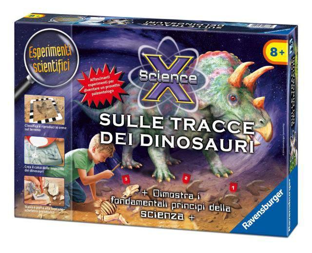 Science X Sulle Tracce Dei Dinosauri Ravensburger