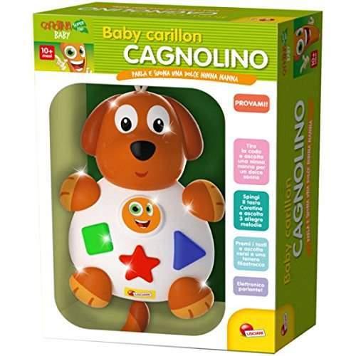 Giocattoli per l'infanzia Lisciani: BABY CAGNOLINO e GATTINO canta ninna nanna