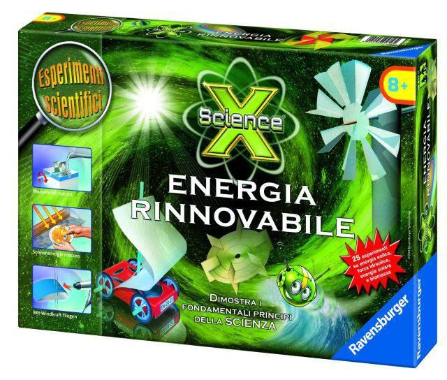Science X Energia Rinnovabile Ravensburger