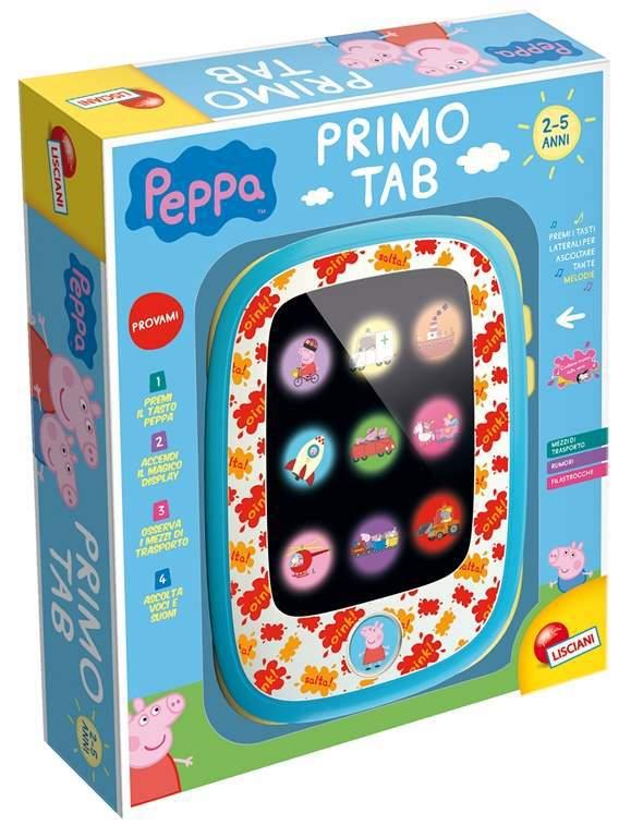 Peppa Pig Primo Tab: il nuovo tablet per i bambini più piccoli con parole, suoni e filastrocche