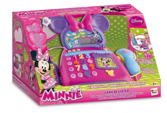 Minnie registratore di cassa elettronico con accessori