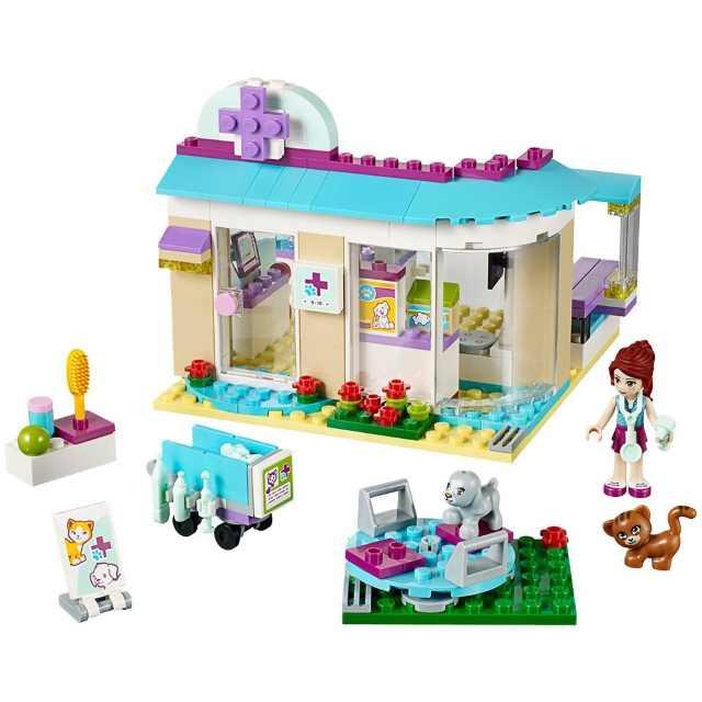 contenuto scatola lego friends