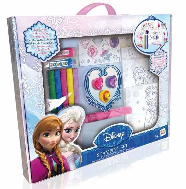 Frozen set stampini con pennarelli di IMC Toys